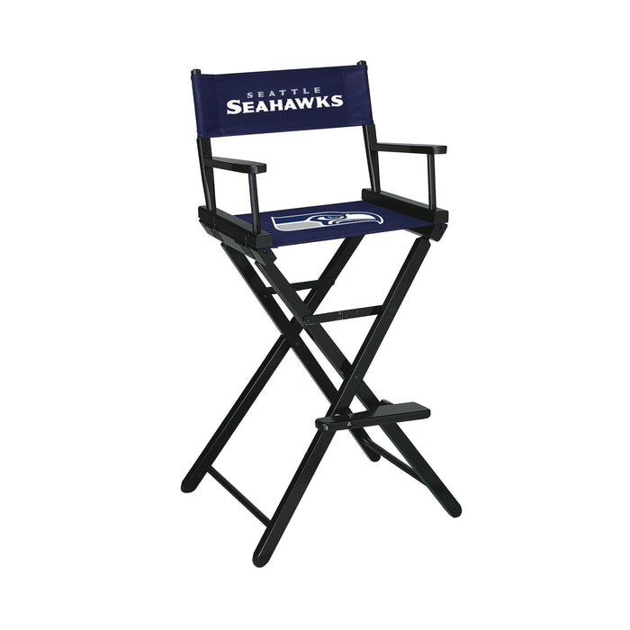 Imperial Seattle Seahawks Bar Height Director Chair