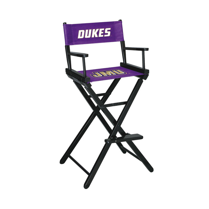James Madison Dukes Bar Height Director Chair
