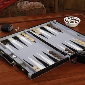 Mainstreet Classics Pennsylvania Ave Backgammon Set-epicrecrooms.com