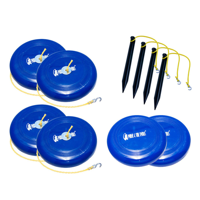 Park & Sun Sand Disc Kit For Recreational Volleyball Set