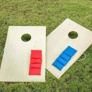 "Triumph ""Woodie"" Cornhole Bag Toss Games"