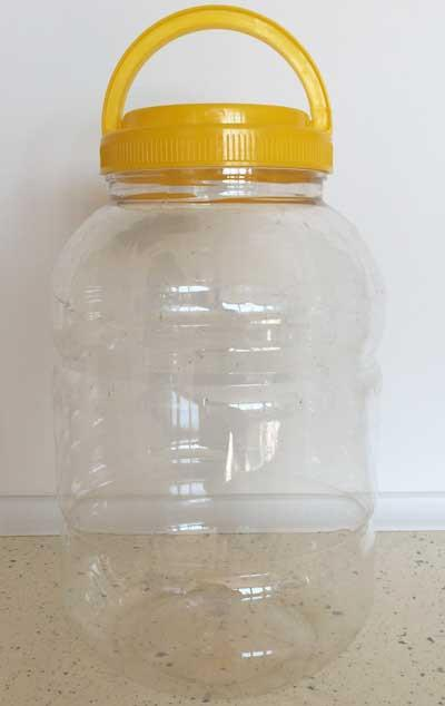 Jar for Medical Leeches 5L