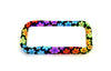 "Bead On It Board -  Floral Trance Rainbow (6x11"", 15x28cm, Rectangle)"