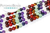 Chakra Gemstone Mix 4mm (7 colors)