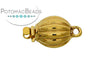 ClaspGarten Clasp Melon GP 10mm (23kt Gold Plated)