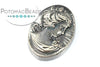 Cameo - Pewter Grey 18x25mm