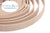 Cork Cord Flat 10mm - Light Pink