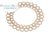 Brass Filigree Donut 35mm - Beige