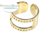 Gold Plated Centerline Ring