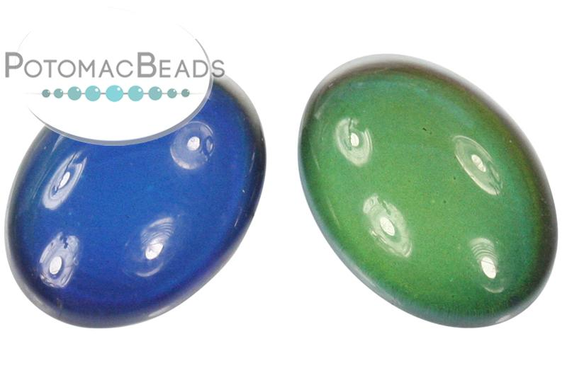 Resin Mood Cab 10x14mm