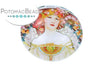 Glass Cabochon - Goddess Amaterasu 25mm