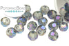 Potomac Crystal Round - Metallic Trans Blue 4mm