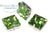 Potomac Crystal Square Setting - Peridot 12mm