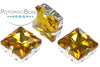 Potomac Crystal Square Setting - Topaz 12mm