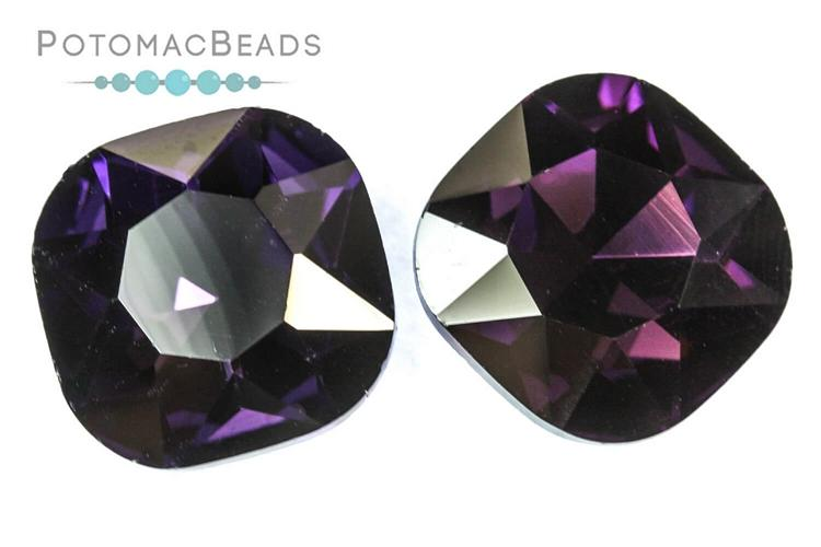 Potomac Crystal Cushions - Amethyst 18mm