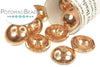 Piggy Beads - Crystal Capri Gold