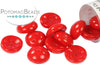Piggy Beads - Opaque Red 2