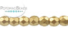 Czech Faceted Round - Aztec Gold 3mm