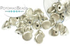 Button Bead - Aluminum Silver