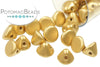 Button Bead - Aztec Gold