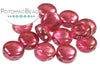 DiscDuo® - Pomegranate Metallic Ice 6mm