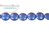 Cushion Bead - Metallic Blue