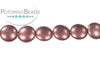 Cushion Bead - Metallic Dusty Cedar