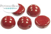 Dome Bead - Cranberry 10x6mm