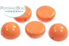 Dome Bead - Peach Coral 10x6mm