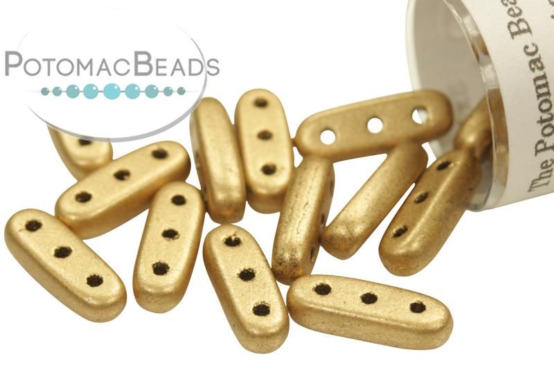 3-hole Beam - Metallic Flax Matte (Aztec Gold)