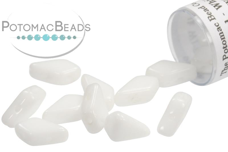 Kite Bead - White (Chalk White)