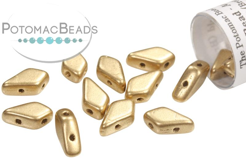 Kite Bead - Aztec Gold (Bronze Pale Gold)