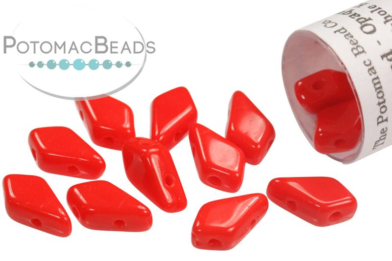 Kite Bead - Ruby (Red)