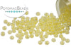 Miyuki Seed Beads - Light Yellow Lined Crystal 11/0
