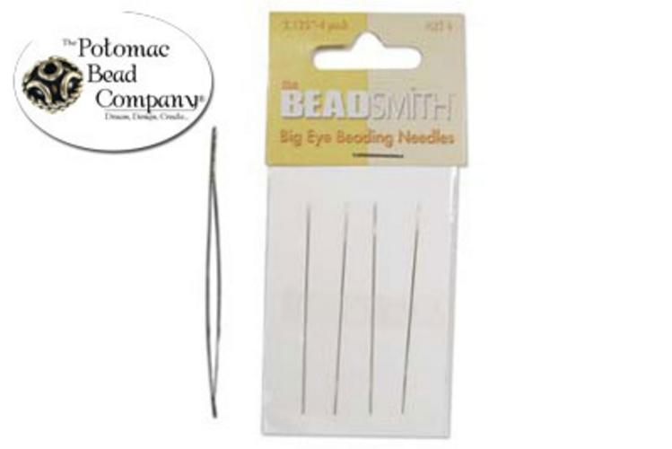 "Bead Smith Big Eye Needles 2"" - PotomacBeads.eu"