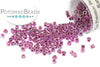 DB0056 Delica - Raspberry Lined Crystal