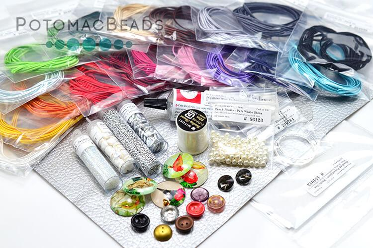 Bead & Soutache Embroidery Starter Kit