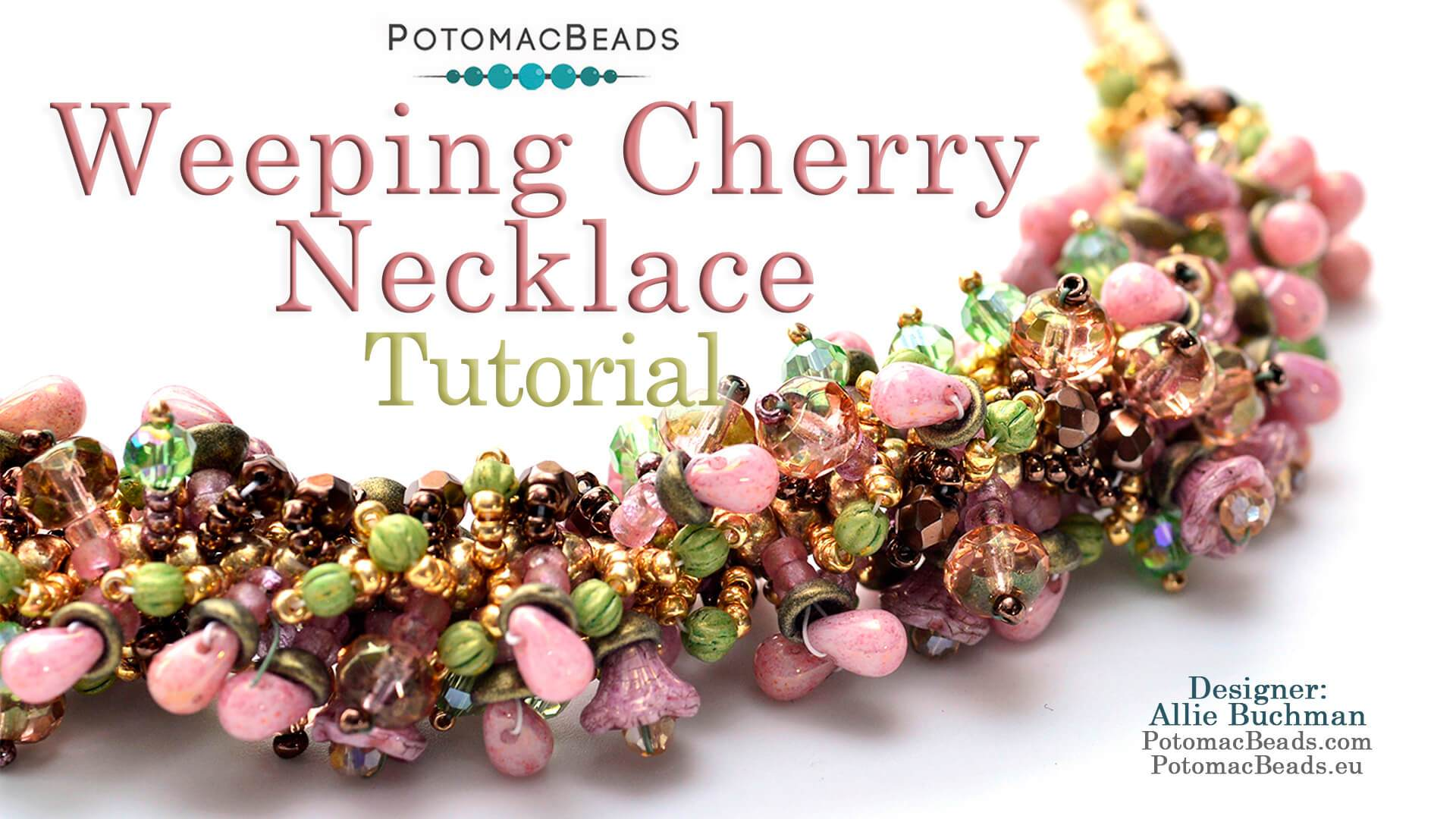 Weeping Cherry Necklace Pattern