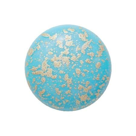 Cabochon par Puca® - Opaque Aqua Splash 18mm