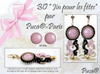 Jin pour les Fêtes Earrings by Puca®