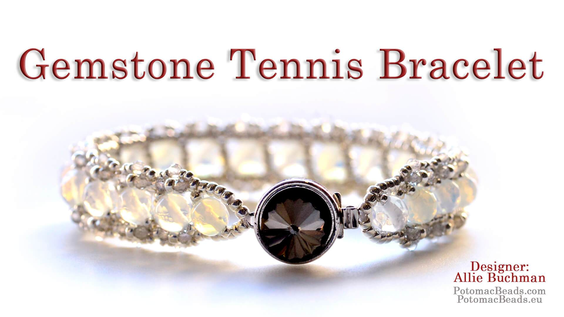 Gemstone Tennis Bracelet Pattern