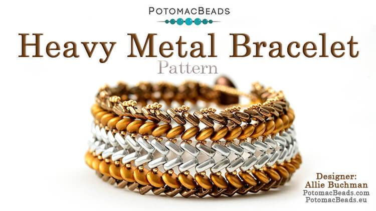Heavy Metal Bracelet Instant Download PDF Pattern