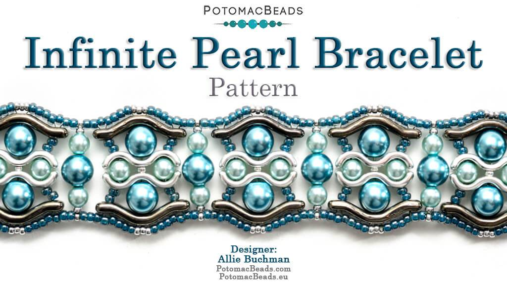 Infinite Pearl Bracelet Instant Download PDF Pattern