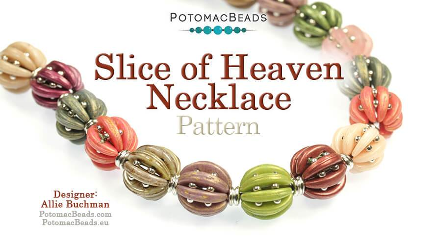 Beadweaving 872 - Slice of Heaven Necklace/Bracelet Pattern by Allie Buchman