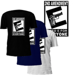 Second Amendment Rated E for Everybody T-Shirt