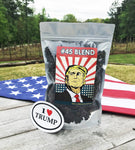 #45 Blend Coffee + FREE I Love Trump Sticker!