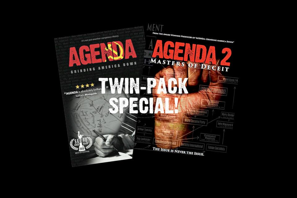 Agenda Twin-Pack (2 DVD Set) + FREE BONUS DVD: Enemies Within!