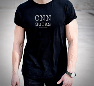 CNN Sucks T-Shirt (MADE IN THE USA)
