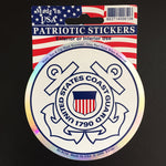 US Coast Guard Sticker (Made In The USA)