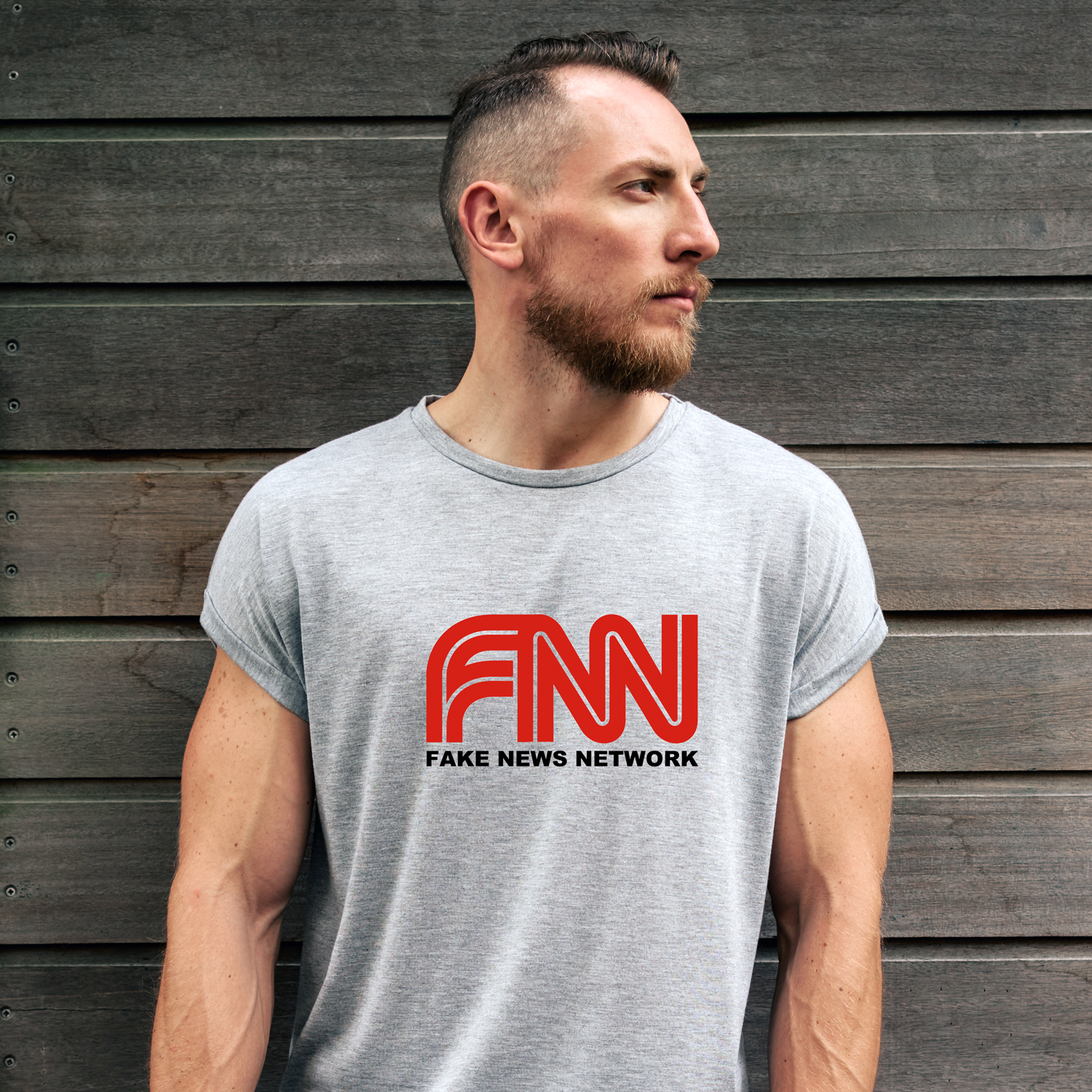 FNN Fake News Network T-Shirt (MADE IN THE USA)
